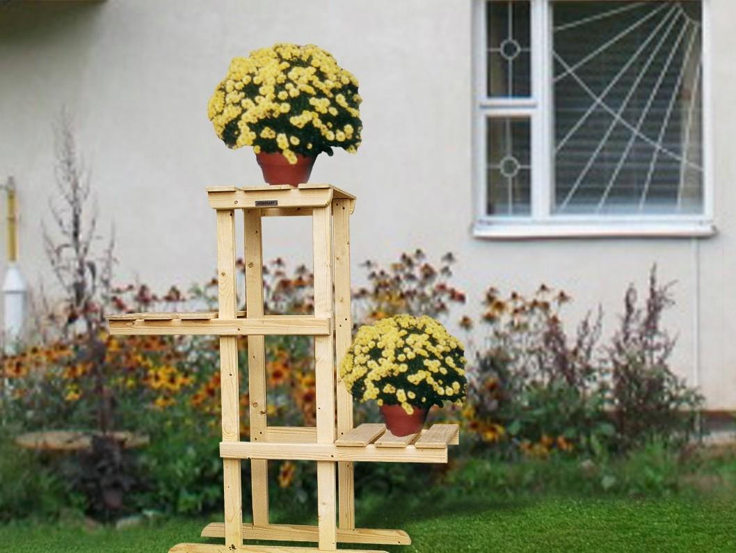 Подставка из дерева для цветов своими руками 34 фото как сделать напольную деревянную подставку на подоконник Советы по изготовлению стойки чертежи