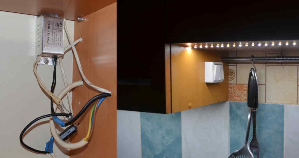 Светодиодная подсветка для кухни: преимущества, особенности, тонкости выбора и монтажа