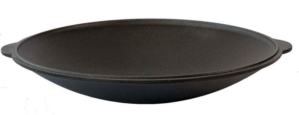 Как выбрать сковороду садж для костра и плиты- виды по материалам и форме