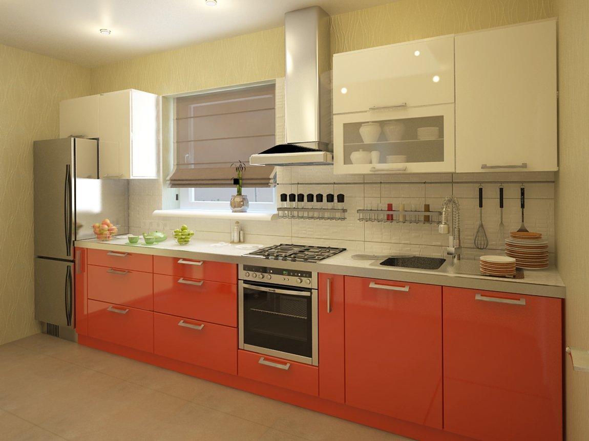 Размеры кухонных шкафов и их стандарт, габариты модулей и расположение (видео)